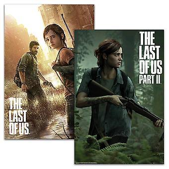The Last of Us Posterset Parte I & II 91,5 x 61 cm