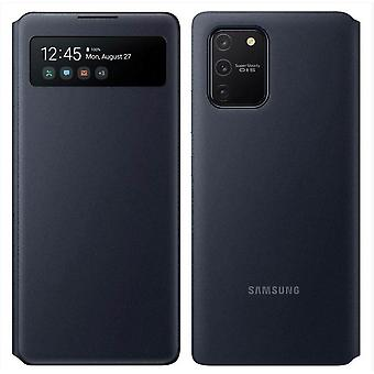 Official Samsung Galaxy S10 Lite S View Wallet Cover Case Flip Cover - Black