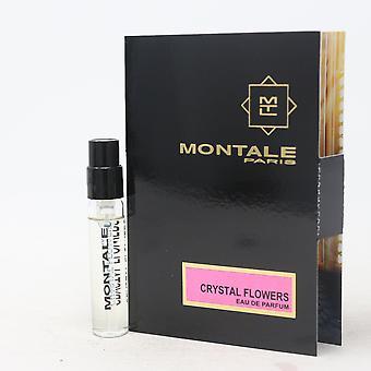 Crystal Flowers by Montale Paris Eau De Parfum Vial 0.07oz/2ml Spray New