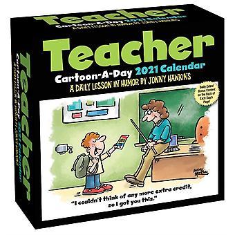 Teacher CartoonADay 2021 Calendar  A Daily Lesson in Humor by Jonny Hawkins