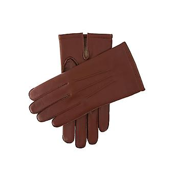 Men's Warm Lined Leather Gloves