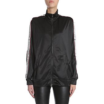 Forte Couture Fc1ss1812bkwhrd Women's Black Polyester Sweatshirt