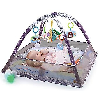 Multifunktionell baby fitness fram- staket krypmatta
