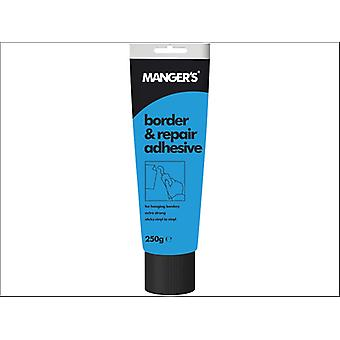Mangers Border & Overlap Adhesive Tube 250g