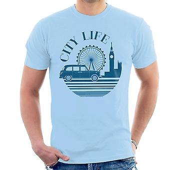 London Taxi Company City Life Mænd's T-shirt