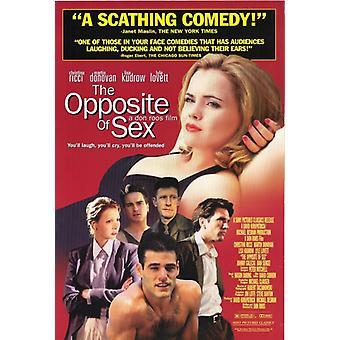 Motsatt av Sex film plakatutskrift (27 x 40)