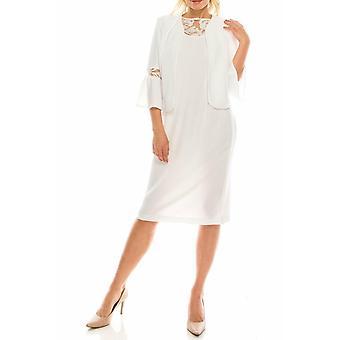 Crepe Bell Sleeve Dress Suit