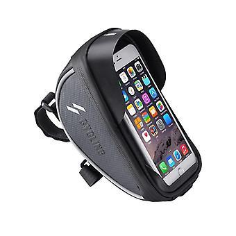 Bicycle Bag Frame Front Top Tube Rainproof Bike Bags 6.0in Phone Case