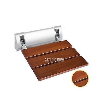 تعزيز الخشب الصلب حمام حمام للطي مقعد