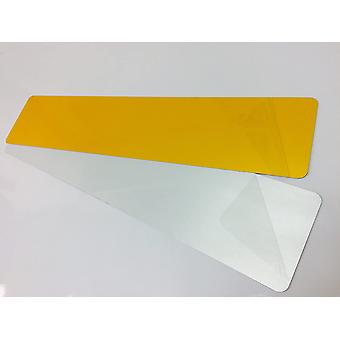 100 Pcs Road Legal Dry Faced Reflective Car Number Plates Show Gel 3D 4D 50x Front 50x Rear 520x111mm