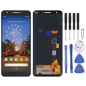 LCD Screen And Digitizer Full Assembly for Google Pixel 3a(Black)