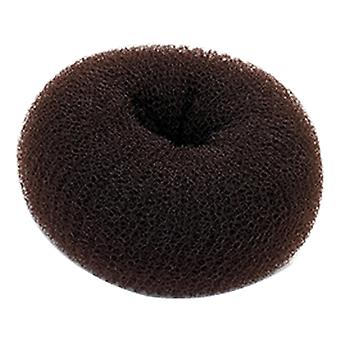 Hair Donut - Medium Brown, 7.5cm Approx