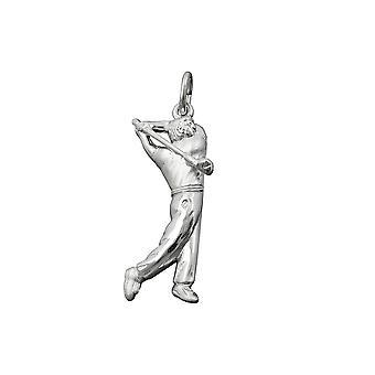 Wisiorek Golfista Srebrny 925