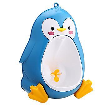 Toilette urinoir debout en forme de dessin animé mignon de pingouin