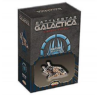 Battlestar Galactica Starship kjemper romskip pakke: Raptor (SAR / ECM)