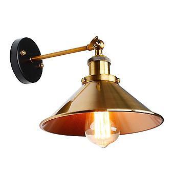 Veggmontert Vintage Jern-lampeskjerm
