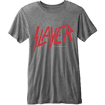 Slayer Classic Logo Official Tee T-Shirt Mens Unisex