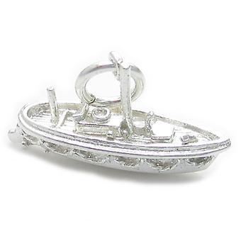 Rettungsboot Sterling Silber Charm .925 X 1 Rettungsboot Rettungsboote Charms - 4513