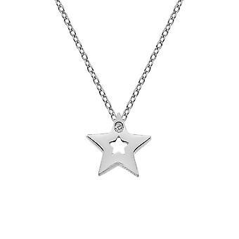 Hot Diamonds Sterling Silver Diamond Amulets Star Pendant DP722