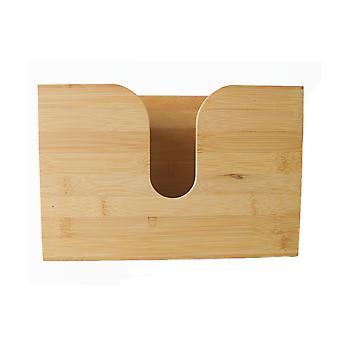 Bambusová nástěnná tkáňová krabička