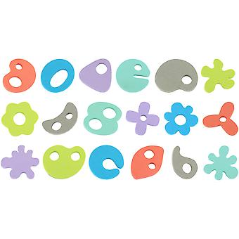 Mammababy Shaped foams for bath - 36 pieces