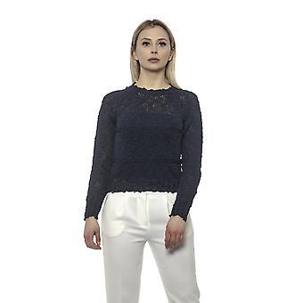 Pullover Blau Alpha Studio Damen