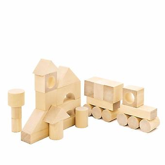 """Alatoys Wooden  The constructor """"Town"""" unpainted"""