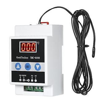 Tmc-6000 110-240v guide rail thermoregulator digital temperature controller thermostat refrigeration heating temperature control