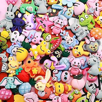 Cartoons Charms For Slime Supplies Polymer