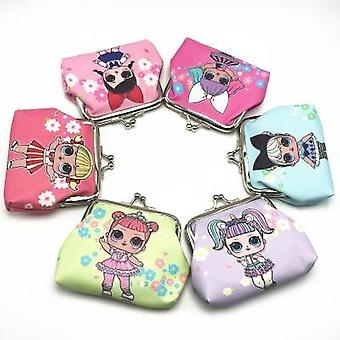 Children's Digital Printing Surprise Doll Coin Purse