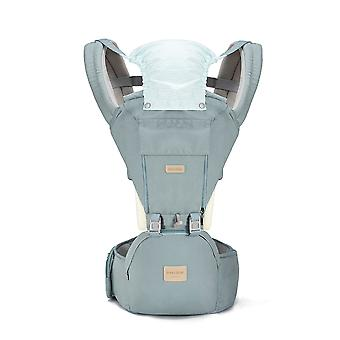 Baby carrier with waist stool, multifunctional and convertible cotton carrier, suitable for children