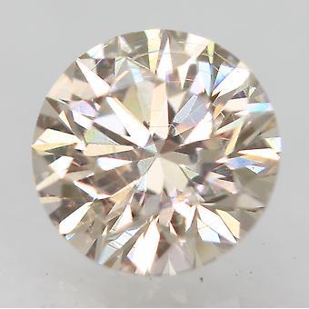 Sertifioitu 0,31 karat K VVS2 pyöreä loistava parannettu luonnon timantti 4.31mm 3EX