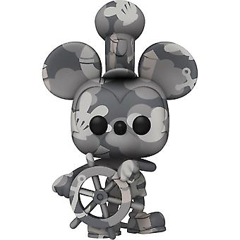 Mickey Mouse Steamboat Willie (Artist) US Pop! Vinyl