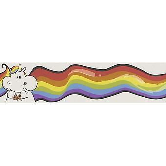 Rasch Unicorn Rainbow Kids Border Achtergrond