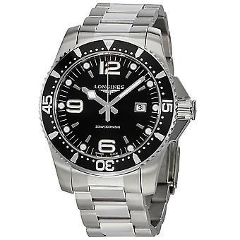Longines HydroConquest Black Dial Men's 44mm Watch L38404566