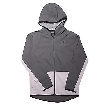 Boy's Under Armour Infant Woven Track Jacket in Grey