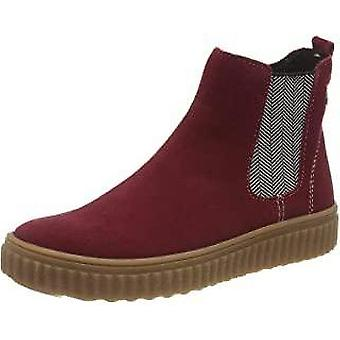 Lurchi ning-tex red waterproof chelsea boots
