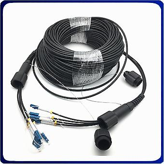 4strands Pdlc/sc/fc/stupc Armored Fiber Optic Patch Cord Cable