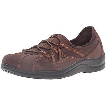 Easy Street Womens Laurel leder laag bovenste Slip op Fashion Sneakers