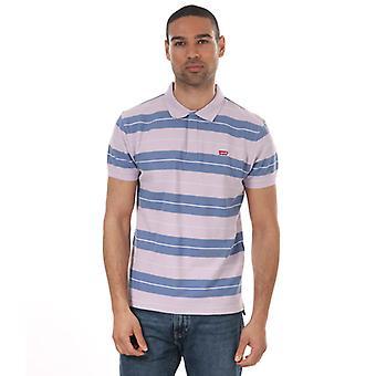 Men's Levis Performance Housemark Polo Shirt in Purple