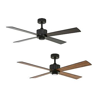 DC ceiling fan Newport Black with LED and remote