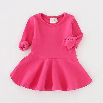Toamna iarna rochie cu maneca lunga pentru copii, ziua de nastere Baby Dress
