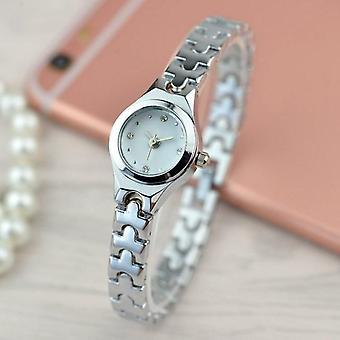 Women Watches, Stainless Steel Ladies Wristwatches, Diamond Female Bracelet