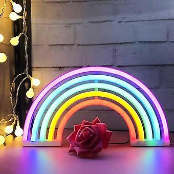 Led Neon Hello Vägg konst tecken ljus