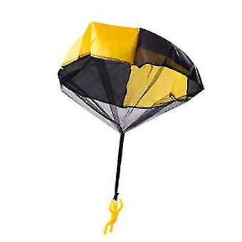 Gele kinderen parachute speelgoed tangle gratis gooien hand gooien parachute leger man gooi het op x1004