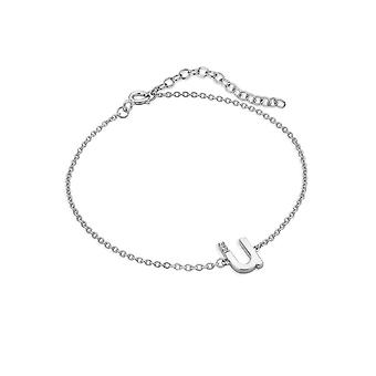 Hot Diamonds Diamond Letter U Bracelet DL632