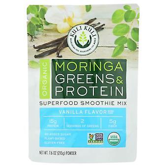Kuli Kuli Moringa Zöldek > Protein Superfood Smoothie Mix, Vanília 7.6 Oz