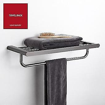 Zestaw sprzętu do kąpieli Ze stali nierdzewnej Akcesoria łazienkowe Ręcznik Rack / Bar Toaleta Brush Holder Corner
