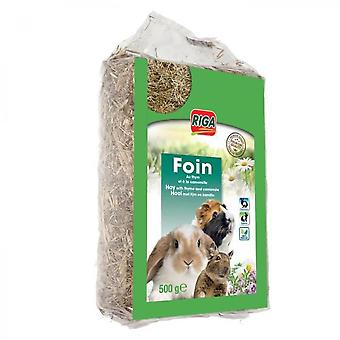 Riga Hay With Thyme And Chamomile Premium - For Rodents - 500 G