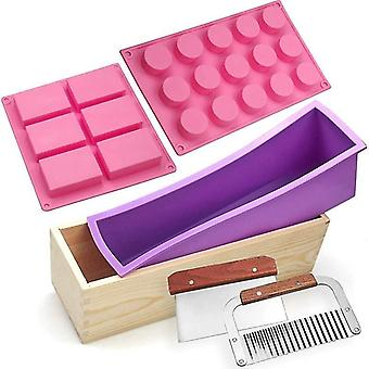Silicone Soap Mould Kit